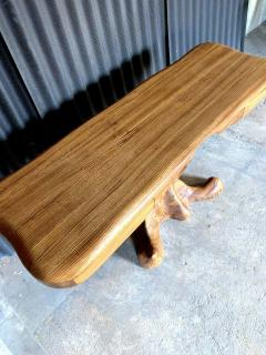 Wendell Castle American Studio style Zebra Wood Two Drawer Console Desk - 1267127