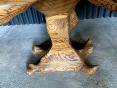 Wendell Castle American Studio style Zebra Wood Two Drawer Console Desk - 1267130