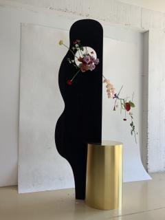 Wenge Brass Sculpture - 1189869