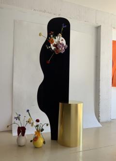 Wenge Brass Sculpture - 1189870