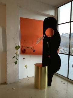 Wenge Brass Sculpture - 1189871