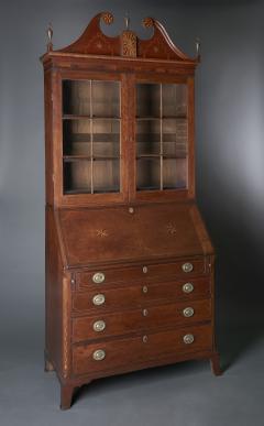 Western Pennsylvania Desk and Bookcase - 623454