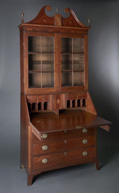 Western Pennsylvania Desk and Bookcase - 623456