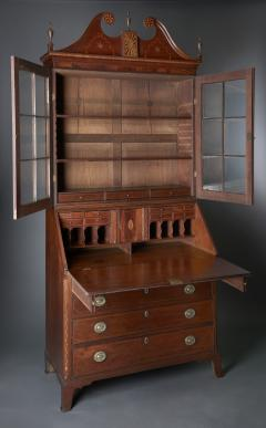 Western Pennsylvania Desk and Bookcase - 623457