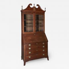 Western Pennsylvania Desk and Bookcase - 625361