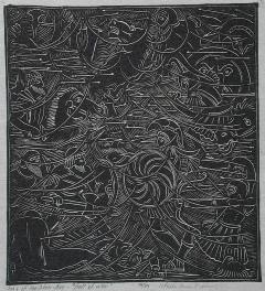 Wharton Esherick Song of the Broad Axe Hell of War 1924 - 16566