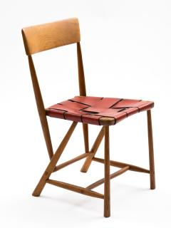 Wharton Esherick Wharton Esherick Ash Chair Signed and Dated 1952 - 547798