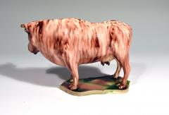 Whieldon type Rare Lead glaze Creamware Model of a Cow - 1702166