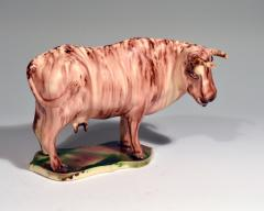 Whieldon type Rare Lead glaze Creamware Model of a Cow - 1702167