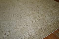 White Brown Antique Persian Tabriz Rug rug no j1881 - 1505598