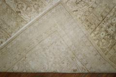 White Brown Antique Persian Tabriz Rug rug no j1881 - 1505602