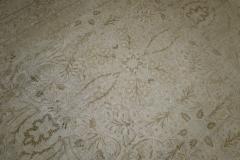 White Brown Antique Persian Tabriz Rug rug no j1881 - 1505603
