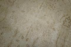 White Brown Antique Persian Tabriz Rug rug no j1881 - 1505616