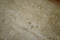 White Brown Antique Persian Tabriz Rug rug no j1881 - 1505626