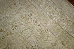 White Brown Antique Persian Tabriz Rug rug no j1881 - 1505630