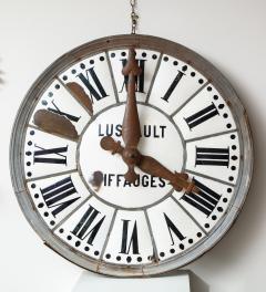 White Face Enamel Clock - 1024784