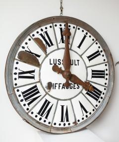 White Face Enamel Clock - 1024786