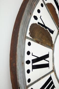 White Face Enamel Clock - 1024790
