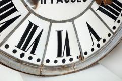 White Face Enamel Clock - 1024791