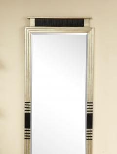 White Gold Gesso Mirror - 1097873