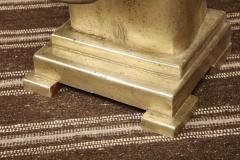 White Gold Gilded Sculpture - 1192651