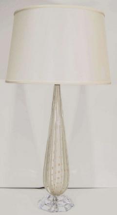 White Murano Glass Lamp - 1100408