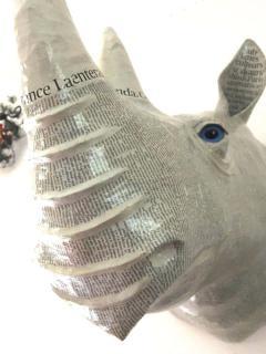 White Rhinoceros Trophy - 1608726