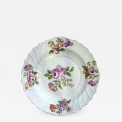White plate with Center Rose - 1042159