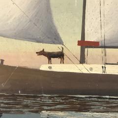 Wilhelm Erichsen Sailing Ships Lighthouse Danish Early 1900s - 1701884
