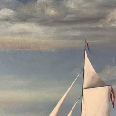 Wilhelm Erichsen Sailing Ships Lighthouse Danish Early 1900s - 1701888