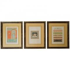 Wilhelm Johann Karl Zahn Classical Chromolithographs by Wilhelm Johann Karl Zahn Set of Three - 859445