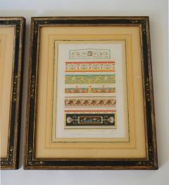 Wilhelm Johann Karl Zahn Classical Chromolithographs by Wilhelm Johann Karl Zahn Set of Three - 859446