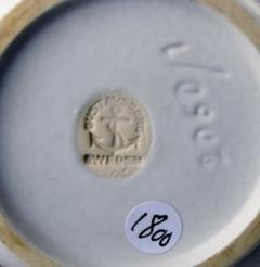 Wilhelm K ge Carrara 2 ceramic vases - 1386197