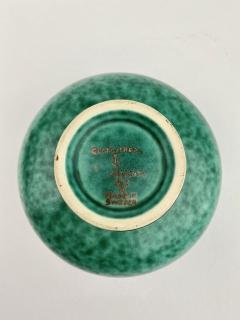 Wilhelm K ge Gustavsberg Argenta Squat Vase - 1728688