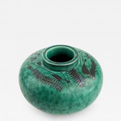 Wilhelm K ge Gustavsberg Argenta Squat Vase - 1729267
