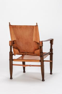 Wilhelm Kienzle Wilhelm Kienzle Safari Chair Leather 50s - 1908171