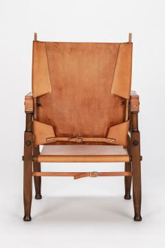 Wilhelm Kienzle Wilhelm Kienzle Safari Chair Leather 50s - 1908178