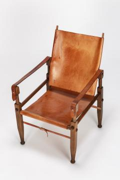 Wilhelm Kienzle Wilhelm Kienzle Safari Chair Leather 50s - 1908179