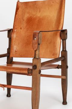 Wilhelm Kienzle Wilhelm Kienzle Safari Chair Leather 50s - 1908191