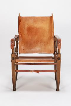 Wilhelm Kienzle Wilhelm Kienzle Safari Chair Leather 50s - 1908195