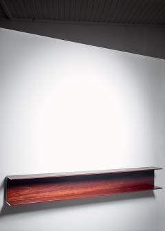 Wilhelm Renz Wilhelm Renz Wooden Open Wall Shelf Germany 1960s - 1037183