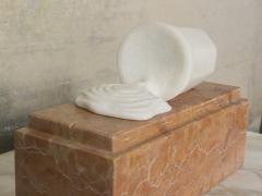 Will West The Error Marble Sculpture - 1060916