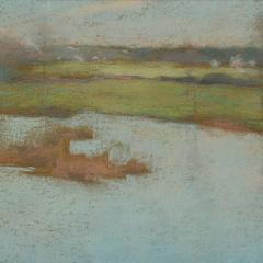Willard Leroy Metcalf Grez View of a Village 1885 - 308556