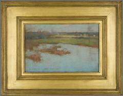 Willard Leroy Metcalf Grez View of a Village 1885 - 308558
