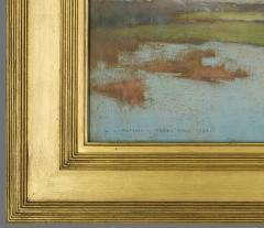 Willard Leroy Metcalf Grez View of a Village 1885 - 308559