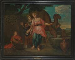 Willem Muys Classicizing Baroque Biblical Willem Muys Rebekka and Eli zer - 2133999