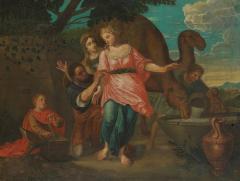 Willem Muys Classicizing Baroque Biblical Willem Muys Rebekka and Eli zer - 2134001