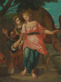 Willem Muys Classicizing Baroque Biblical Willem Muys Rebekka and Eli zer - 2134002
