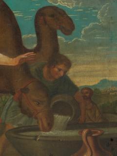 Willem Muys Classicizing Baroque Biblical Willem Muys Rebekka and Eli zer - 2134005