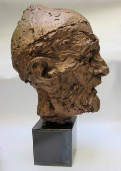 Willem Verbon Willem Verbon Kees Van Dongen ninety years old first bronze cast 1968 - 1255869